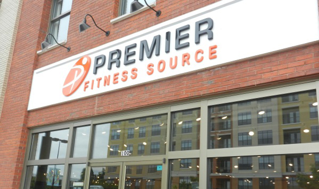 retails store signs-gym