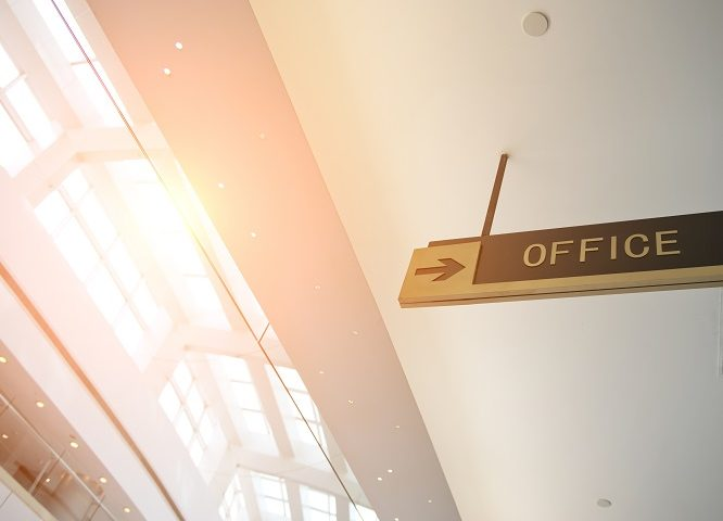 office lobby signs